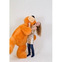 Большой плюшевый мишка 200 см (медовый цвет)