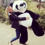 Игрушка панда большая 170 см