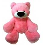 Большой мишка игрушка 120 см ( розовый цвет)