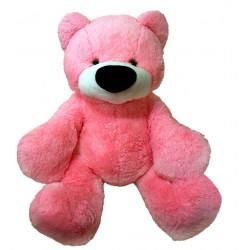 Большой мишка игрушка 110 см ( розовый цвет)