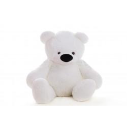 Игрушка большой медведь 80 см ( белый цвет)
