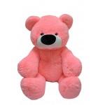Большой плюшевый медведь 100 см (розовый цвет)
