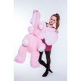 Мягкие розовые слоники