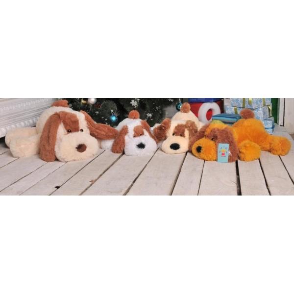 Мягкие игрушки собачки 55 см