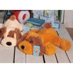 Мягкая игрушка собака Шарик 75 см (медовыйцвет)