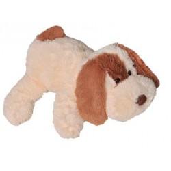 Мягкая игрушка собака Шарик 75 см (персиковый цвет)