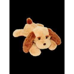 Плюшевая собака Тузик 65 см (медовый цвет)
