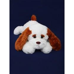 Плюшевая собачка 50 см (белый цвет)