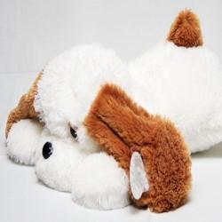 Плюшевая собачка 53 см (белый цвет)