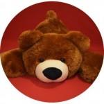 Мишка Тедди в Украине 100 см (коричневый цвет)