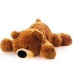 Мягкая игрушка медведь 45 см (коричневый цвет)