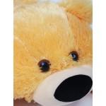 Плюшевый мягкий мишка 55 см (медовый цвет)