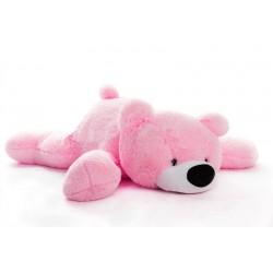 Большой медведь игрушка 120 см (розовый цвет)