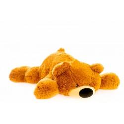 Большой медведь игрушка 120 см (медовый цвет)