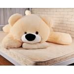 Большой медведь игрушка 120 см (персиковый цвет)