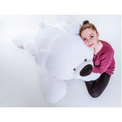 Большой медведь игрушка 120 см (белый цвет)