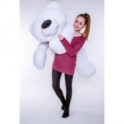 Медведь мягкий большой 180 см (белый цвет)