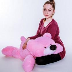Мишка мягкая игрушка 85 см (розовый цвет)