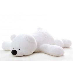 Мишка мягкая игрушка 85 см (белый цвет)