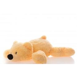 Мягкая игрушка медведь 45 см (персиковый цвет)