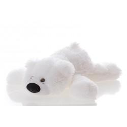 Мягкая игрушка медведь 45 см (белый цвет)