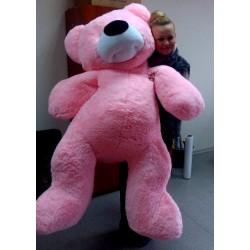Огромный мишка 180 см (розовый цвет)