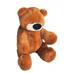Большой плюшевый медведь 95 см (коричневый цвет)