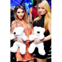 Мягкий мишка в Украине 45 см(белый)