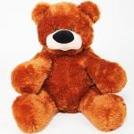 Игрушка большой медведь 80 см ( коричневый цвет)