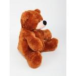 Игрушка большой медведь 77 см ( коричневый цвет)
