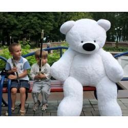 Огромный мишка 180 см ( белый цвет)