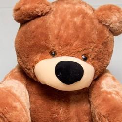 Большой мишка игрушка 110 см ( коричневый цвет)
