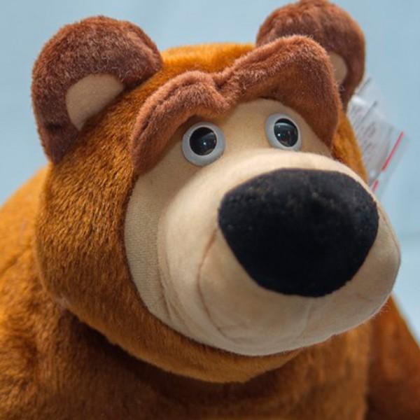 Маша и медведь игрушки купить 75 см