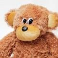Купить мягкую плюшевую обезьянку 55 см