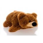 Подушка игрушка Мишка купить 55 см (коричневый цвет)