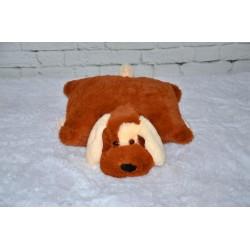 Подушка Шарик  купить 55 см (коричневый цвет)