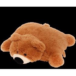 Подушка игрушка Мишка купить 45 см (коричневый цвет)