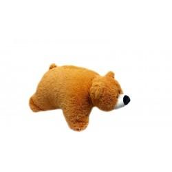 Подушка игрушка Мишка купить 45 см (медовый цвет)