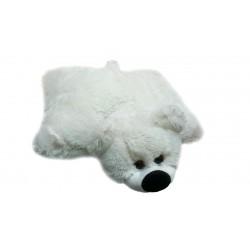Подушка игрушка Мишка купить 45 см (белый цвет)
