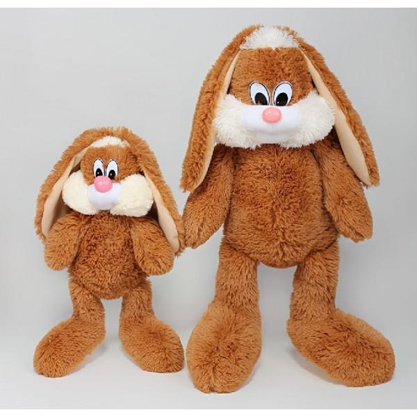 Купить плюшевую игрушку зайца 50 см