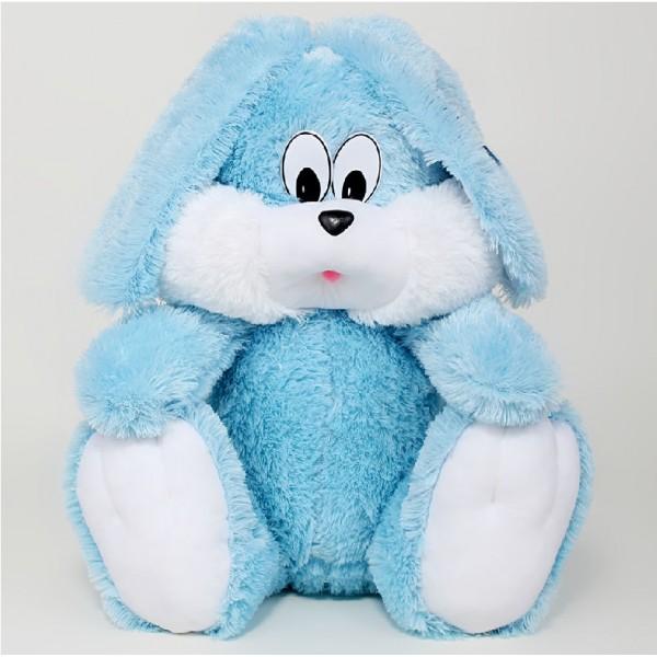 Мягкая игрушка зайчик купить 55 см
